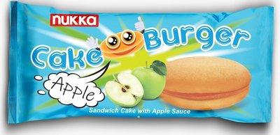 NUKKA CAKE BURGER MET APPEL 5 ST 24X125 GR