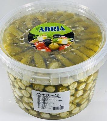 ADRIA GROENE PEPER GEVULD MET ROOMKAAS 3.2 KG