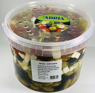 ADRIA MIX OLIJVEN 3.2 KG
