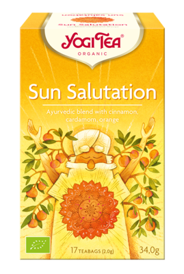YOGI CAY SUN SALUTATION BIO 6X17 ADET