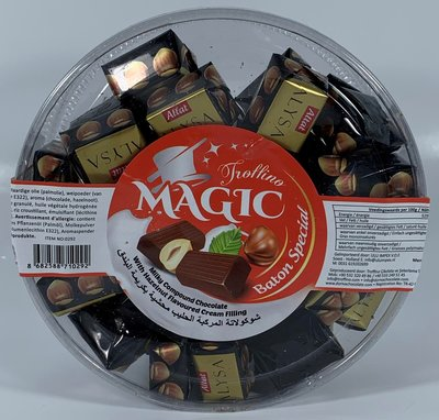 MAGIC BATON CHOCOLADE MET HAZELNOTEN 12X500 GR