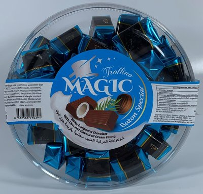 MAGIC BATON CHOCOLADE MET COCOS 12X500 GR