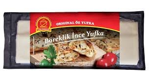 OZ BOREKLIK INCE YUFKA 12X750 GR