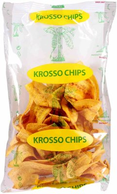 KROSSO BANANE CIPS 20X150 GR