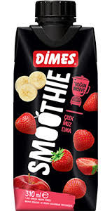 DIMES SMOOTHIE ROOD 12X310 ML