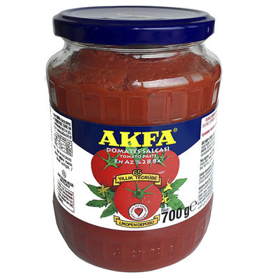 AKFA TOMATENPUREE 12X720 GR POT