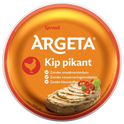 ARGETA KIP PIKANT 12X100 GR