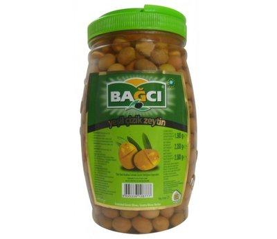 BAGCI GESTREEPTE GROENE OLIJVEN 6X1.5 KG