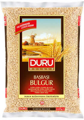 DURU BULGUR TARWE GROF HELE 12X1 KG
