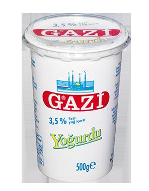 GAZI YOGHURT 3,5% 12X500 GR