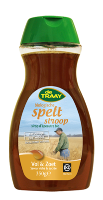 DE TRAAY BIO SPELT STROOP 6X350 GR