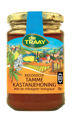 DE TRAAY TAMME KASTANJEHONING 6X350 GR