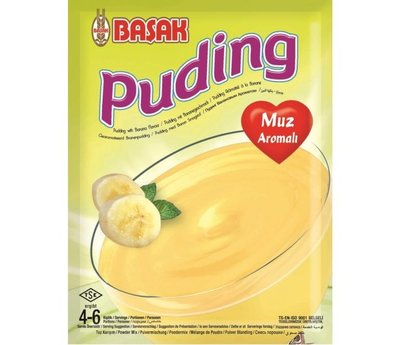BASAK PUDDING BANAAN 12X130 GR