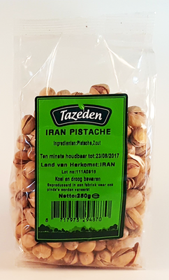 TAZEDEN IRAN PISTACHENOTEN 15X250 GR