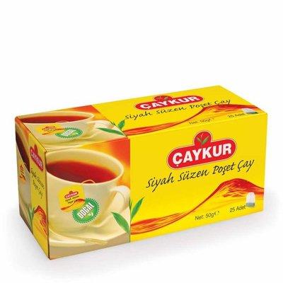 CAYKUR ZWARTE THEE 24X50 GR