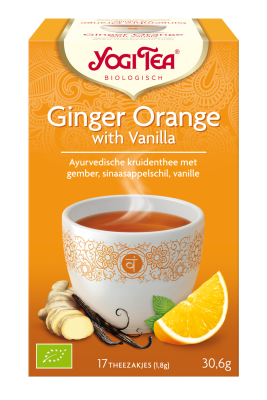 YOGI THEE GINGER ORANE WITH VANILLA 6X17 STUKS