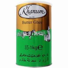 KHAANUM BOTER 12X1 KG