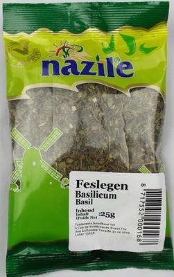 NAZILE BASILICUM 15X25 GR