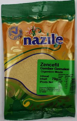 NAZILE GEMBER GEMALEN 15X70 GR