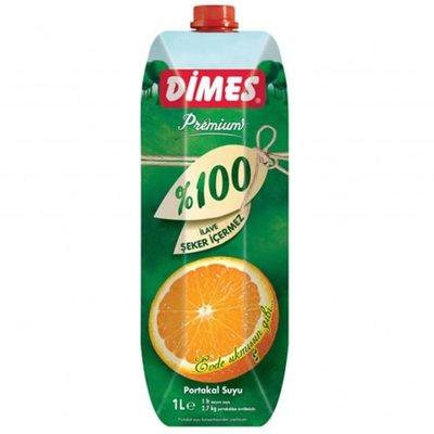 DIMES SINAASAPPELSAP %100 12X1 LT