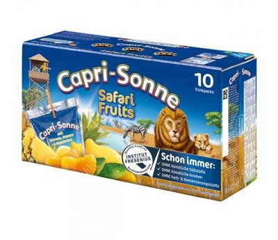 CAPRI SONNE SAFARI FRUITS 4X10X200 ML