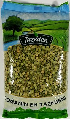TAZEDEN GROENE SPLITERWTEN 12X900 GR