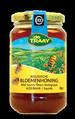 DE TRAAY BIO BLOEMENHONING 6X450 GR