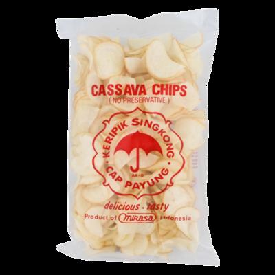 X.O CASSAVA CHIPS 30X250 GR