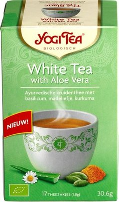 YOGI THEE WHITE TEA 6X17 STUKS