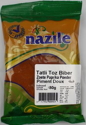 NAZILE GEMALEN PIMENT 15X80 GR