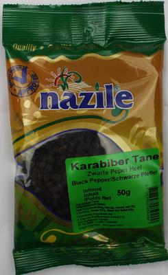 NAZILE ZWARTE PEPER HEEL 15X50 GR