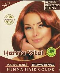 HENNA VITAL BRUIN 10X60 GR