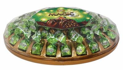 DORIVA ELIPS CHOCOLADE MET AMANDEL 6X625 GR