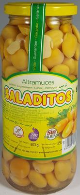 SALADITOS LUPINEBOON 12X600 GR