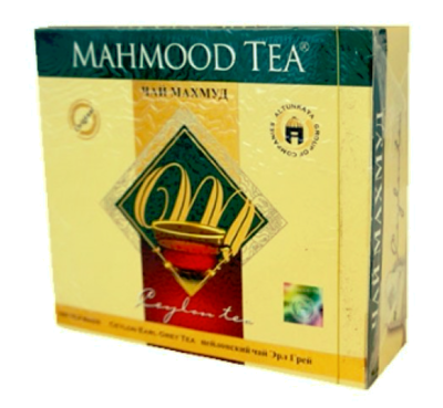MAHMOOD THEE EARL GREY 18X100X2 GR
