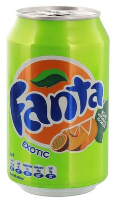 FANTA EXOTIC 24X330 ML