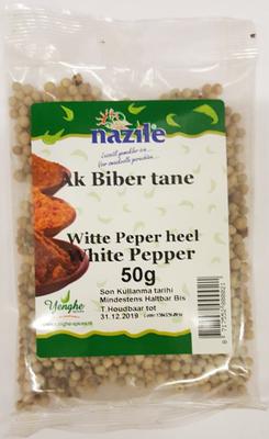 NAZILE WITTE PEPER HEEL 15X50 GR