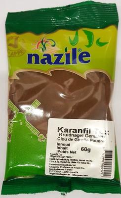 NAZILE KRUIDNAGEL GEMALEN 15X60 GR