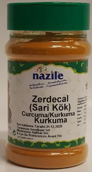 NAZILE KURKUMA 10X150 GR PET