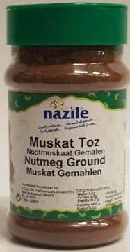 NAZILE NOOTMUSKAAT 10X150 GR