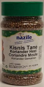 NAZILE KORIANDER 10X80 GR PET