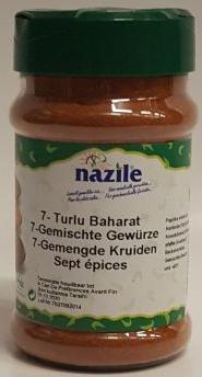NAZILE 7 KRUIDENMIX 10X140 GR PET