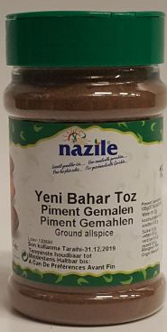 NAZILE PIMENT GEMALEN 12X170 GR PET