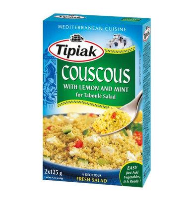 TIPIAK TABOULE COUSCOUS MET CITROEN EN MUNT 12X350 GR