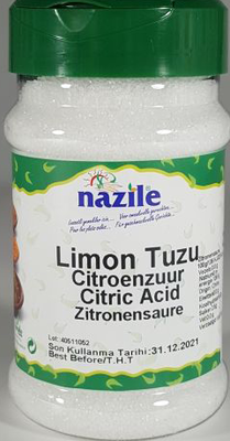 NAZILE CITROENZUUR 10X250 GR