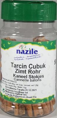 NAZILE KANEELSTOKJES 10X50 GR