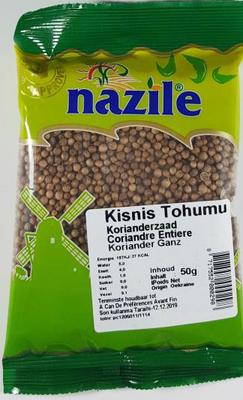 NAZILE KORIANDER 15X50 GR