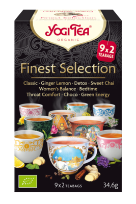YOGI THEE FINEST SELECTION 6X17 STUKS