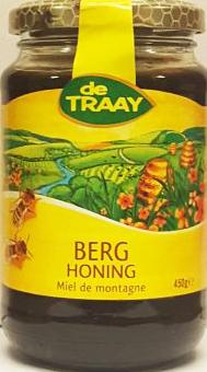 DE TRAAY BERG HONING 6X450 GR