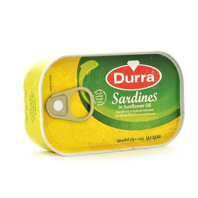 DURRA SARDINES 50X125 GR